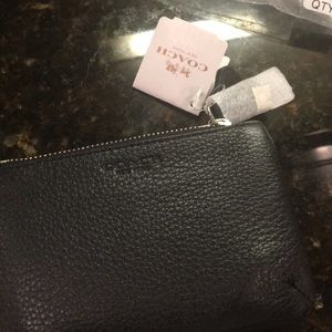 Coach Pebble Leather Coin Pouch